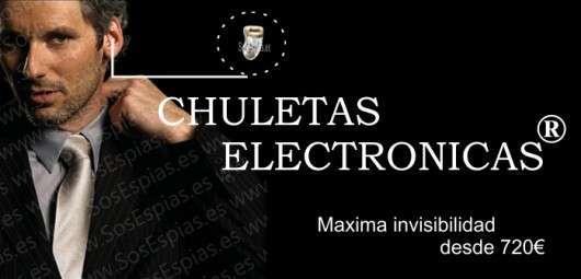 Chuletas Electronicas Pinganillo Inhibidor