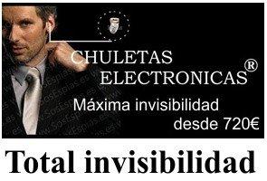 Chuletas Electr�nicas, Pinganillos invisibles