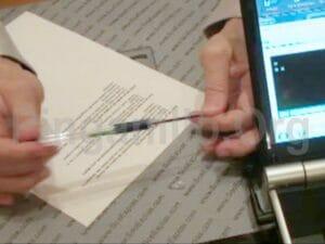 Cámara Lar bolígrafo pinganillo